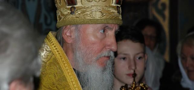 Встреча архиепископа Марка на престольный праздник 04.08