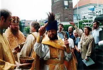 [фото] Престольный Праздник 04.08.2001