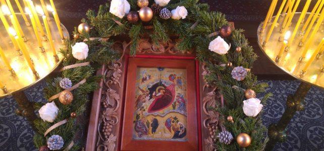 Eine Kinderweihnachtsfeier wurde abgehalten