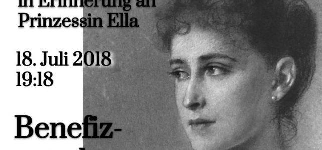 Benefizkonzert in Erinnerung an Prinzessin Ella