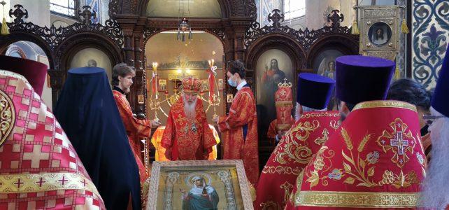 Митрополит Берлинский и Германский Марк возглавил две Божественные литургии в г. Дармштадте