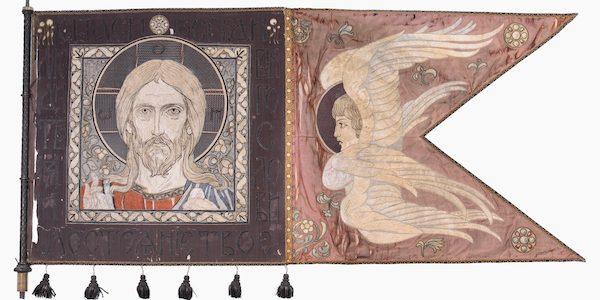 Spendenaufruf – Konservierung historischer Kirchenfahnen.